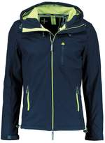 Superdry Hooded Windtrekker Light Jacket Midnight Navy/toxic Green