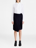 DKNY Pure Cropped Button Thru Shirt