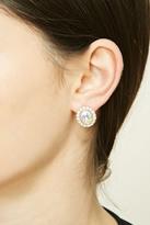 Forever 21 FOREVER 21+ Rhinestone Stud Earrings
