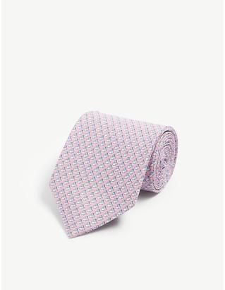 Salvatore Ferragamo Mouse print silk tie