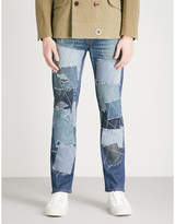 Junya Watanabe x Levi's patchwrok regular-fit straight jeans