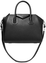 Givenchy Small Antigona Bag In Black Textured-leather - one size