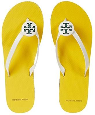 Tory Burch Minnie Flip-Flop (Ivory/Ivory/Multi) Women's Shoes