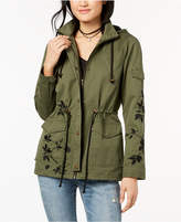 Maralyn and Me Juniors' Hooded Embroidered Anorak