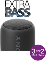 Sony SRS-XB10 Compact Portable Speaker With EXTRA BASSTM - Black