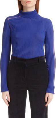 Victoria Beckham Ladder Stitch Rib Sweater