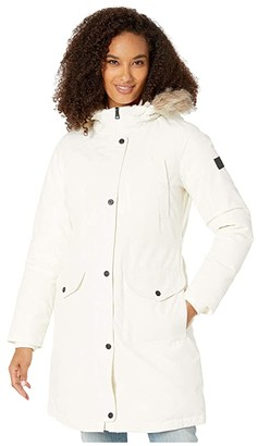 Lauren Ralph Lauren Expedition Down Puffer Parka (White) Women's Clothing