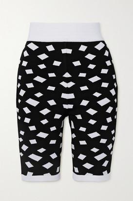 Balmain Jacquard-knit Shorts