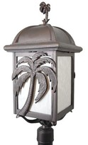Penfield Palm Tree Series 3-Light Lantern Head Alcott Hill Finish: Architectural Bronze