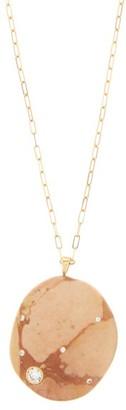 Cvc Stones Burn Diamond & 18kt Gold Necklace - Pink