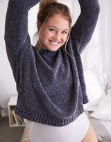 aerie Chenille Crop Sweater