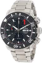 Edox Men's 01115 3 NIN Class 1 Automatic Stainless Steel Chrono Rotating Bezel Watch