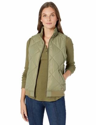 Dickies Women's Quilted Bomber Vest