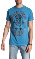 Von Dutch Skull Print Logo T-Shirt