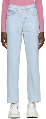 pushBUTTON Blue Corseted Back Jeans