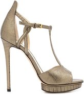 Monique Lhuillier 'Mirabelle' sandals - women - Leather - 35