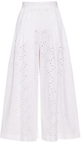 Stella Jean Broderie-anglaise culottes