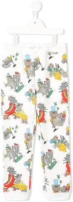 Stella McCartney Kids Rat Print Track Trousers