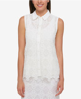 Tommy Hilfiger Lace Shirt, Created for Macy's
