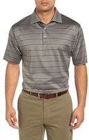Bobby Jones Men's Birdie Jacquard Stripe Polo