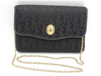 Christian Dior Black Cloth Clutch bags