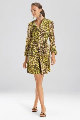 Natori Ombre Animale - Silky Soft Dress