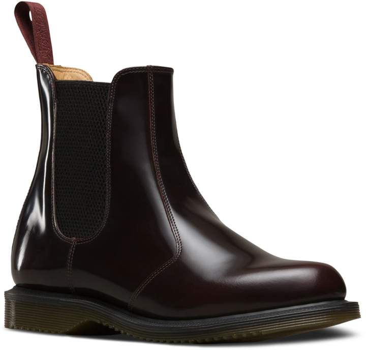 Dr. Martens Womens Flora Tonal Leather Chelsea Boot