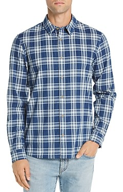 A.P.C. Hector Plaid Regular Fit Shirt