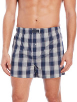 Lucky Brand Plaid Woven Boxers