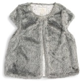 Kate Spade faux fur vest (Big Girls)