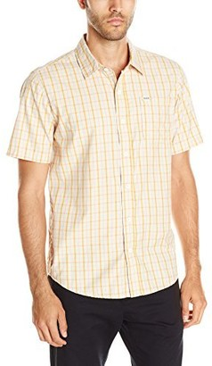Captain Fin Co. Men's Checkers Woven Shirt