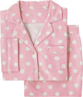 Cath Kidston Button Spot Brushed Flannel Long PJ Set