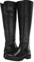Frye Veronica Shearling Tall (Black) Women's Boots