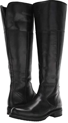 Frye Veronica Shearling Tall (Black) Women's Boots