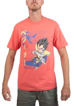 "Dragon Ball Z Men's Kanji ""Vegeta and the Great Ape"" Short Sleeve Graphic Tee"