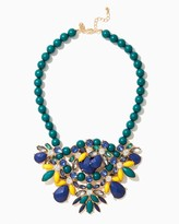 Charming charlie Paola Faceted Statement Necklace
