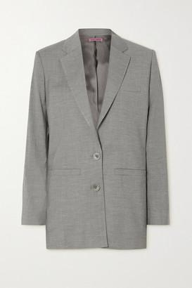GAUGE81 Saba Cutout Wool-blend Blazer - Gray