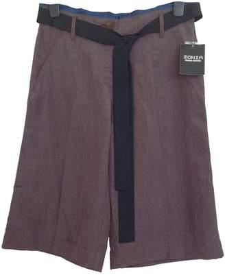 Sonia Rykiel Sonia By \N Brown Cloth Shorts for Women