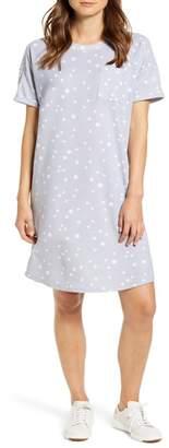 Caslon Short Sleeve Sweatshirt Dress