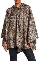 Collection XIIX Leopard Rain Poncho