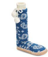 Muk Luks Women's Pom Pom Slipper Socks