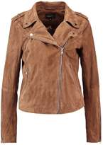 MBYM MILLE NADINE Leather jacket camel
