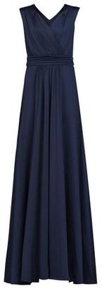 Dorothy Perkins Womens Jolie Moi Navy Wrap Maxi Dress