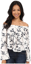 Brigitte Bailey Coco Off Shoulder Embroidered Top