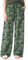 Baja East Palm Print Pants