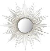 Pier 1 Imports Petite Silver Burst Round Mirror