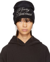 Alexander Wang Black party Animal Beanie
