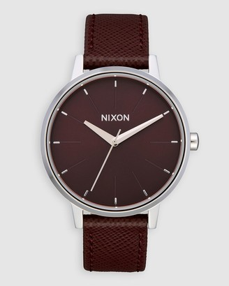 Nixon Kensington Leather Watch