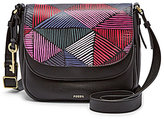 Fossil Peyton Small Double-Flap Cross-Body Bag