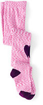 Classic Girls Pattern Tights-Bright Teaberry Heart